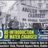 Socialist Party against water charges