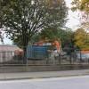Hazardous firework factory waste stalls St Teresa's Garden renewal