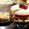 Strawberry occasion cake recipe