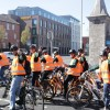 Dublin guided tour with electric bikes.
