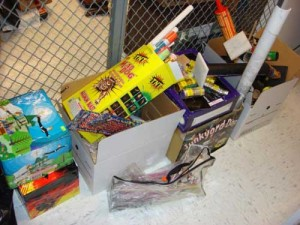Confiscated Fireworks