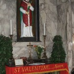 The legend of St. Valentine