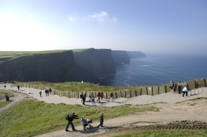 Cliffs of Moher (Credit: Cliffs of Moher visitors experience)