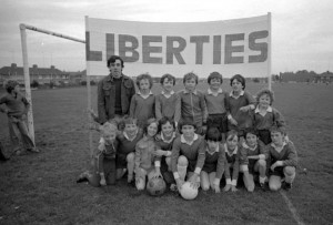 The Liberties football team 1978
