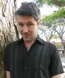 Actor Aidan Gillen from Love/Hate
