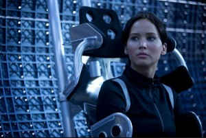 Jennifer Lawrence reprises her role as Katniss in the second installment of the Hunger Games: Catching Fire