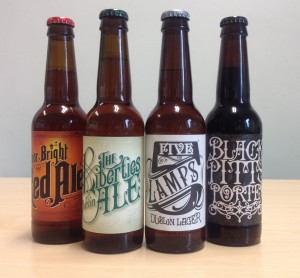 5 Lamps brewery has new alternative beers. Photograph by Louise McLoughlin