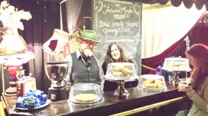 Eamonn Mooney and Rainey J Dillon at Oscar Verne's coffee shop