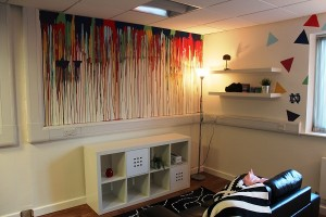 The new 'Teen Room' at Sphia House on Cork Street. Photgraph by Darragh Mowlds