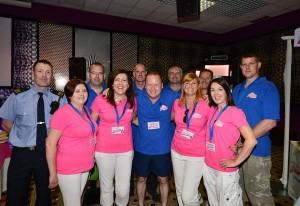 Aoibheann's Pink Tie team-Photo from Aoibheann's Pink Tie Facebook