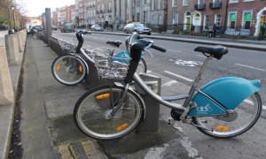 Dublinbikes station (photo: Rebecca Duffy)