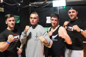 Strike Martial Arts Academy at Future Talents  L-R: Brendan McGee, Eamon Deane, Steve Owens, Pinta Quigley.