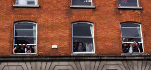 NCAD Sit in - Thomas street - Credit NCAD Student Action