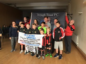 Caption- Iveagh Trust FC