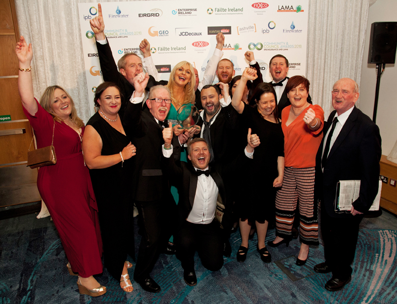 Ashville Media. LAMA Community and Council Awards 2106, held at the Crowne Plaza Hotel, Santry, Dublin. January 2016. Pictures - Paul Sherwood