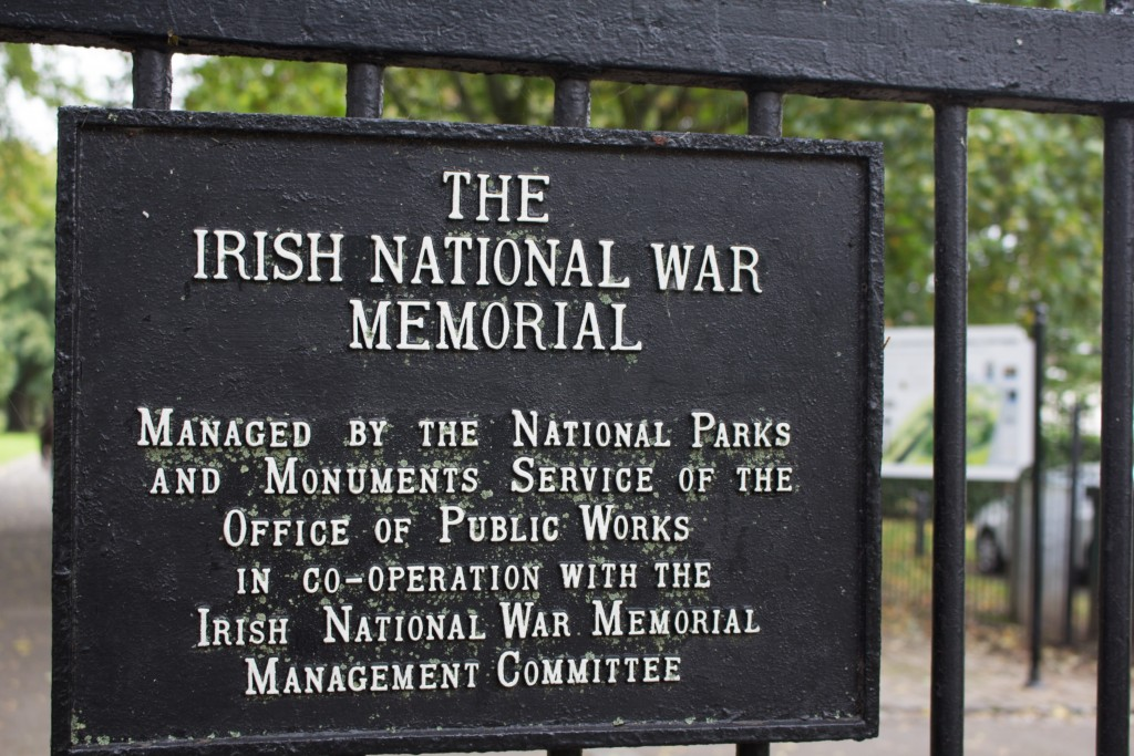 The War Memorial park Credit: Claire Behan
