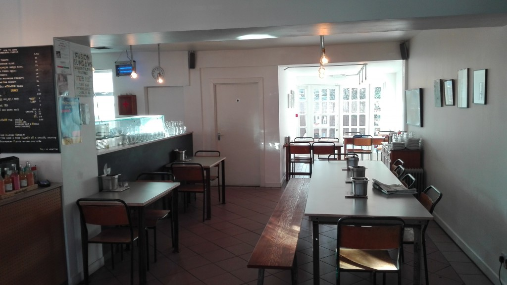 An Interior look of the restaurant.
