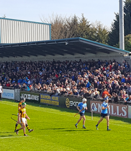 Dublin overcome 14-man Kilkenny in a physical bout at Parnell Park //Paul Hyland
