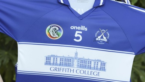 Griffith College sponsor Kevin's GAA