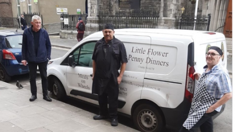 Meath Street's Little Flower puts its famous penny dinners on wheels