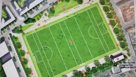 Full-sized sports pitch for The Liberties gets green light after 13 year wait