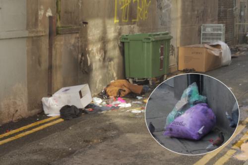Dublin's inner city considered 'seriously littered'