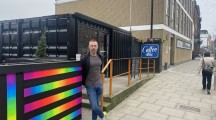 Container Coffee: a coffee shop with a twist