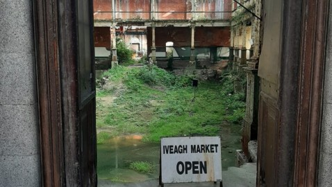 The Iveagh Markets briefly reopen, loud and proud