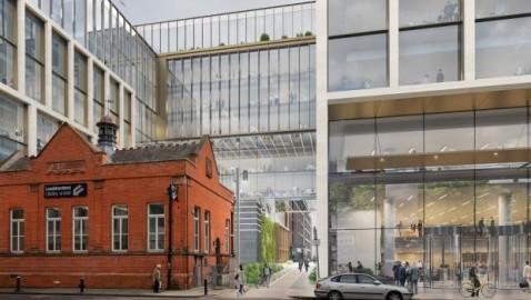 Office and housing development begun on Kevin Street site