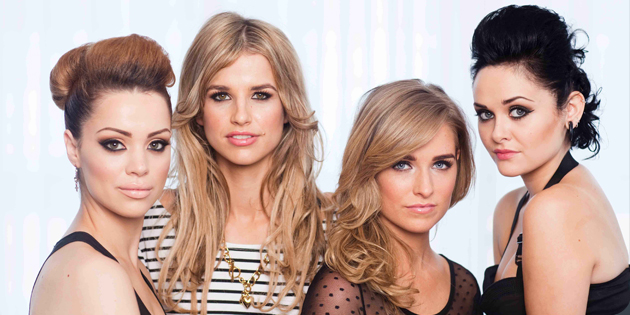 Cici, Vogue, Louise and Dani (Photo courtesy of screenscene.ie)