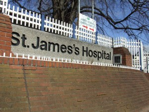 St James's hospital promise to improve hygiene standards-Photo by Barry-Lennon