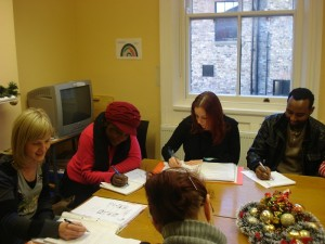 Communications class at the Community Education Centre (Credit: Dublin 8 Community Education Centre)