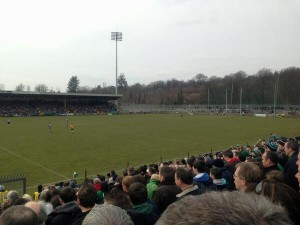Dublin battle it out against All-Ireland Champions Donegal