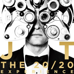 Album cover for Justin Timberlake's album The 20/20 Experience