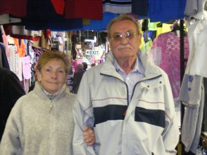 Steve and Elsie Anderson, long-time locals of the Liberties