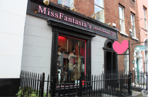 Miss Fantasia's, sex shop found on South William street- photo by Laura Somers