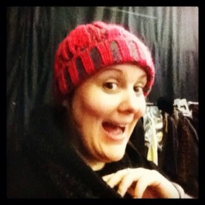 Eimear Morrissey had to 'chav' it up for her latest role in 'Damo and Ivory'-Image: Eimear Morrissey's Facebook [