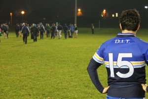Bernard Daly of DIT looks on as DIT's dream is over until next year