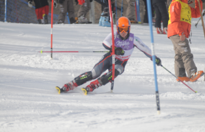 Shane O'Connor (Irish Ski coach) in action before he retired