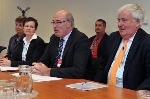 Minister for the environment Phil Hogan Photo: IAEA Imagebank