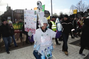 Water protest 1