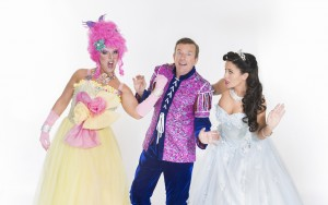 The Cheerios Panto Beauty & The Beast pic a - Rob Murphy, Alan Hughes, Michele McGrath pic Jenny McCarthy