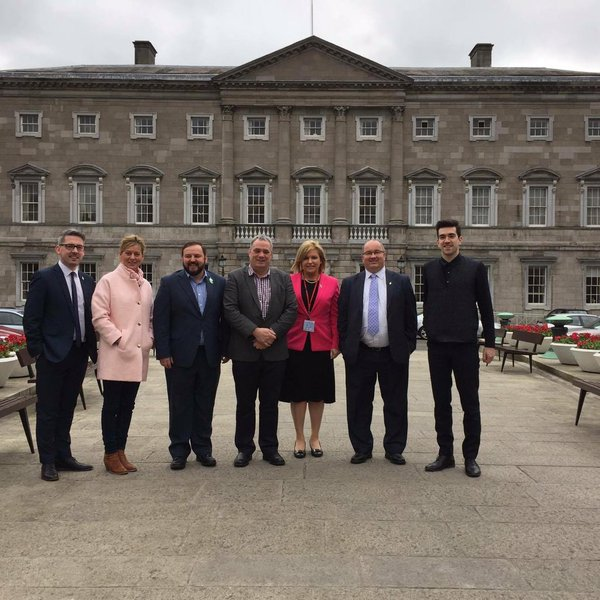 The Sinn Féin candidates running in the upcoming election. Source: Sinn Féin Ireland/Twitter