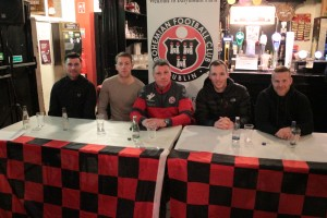 (L-R Dinny Corcoran, Shane Supple, Keith Long, Derek Pender and Lorcan Fitzgerald)