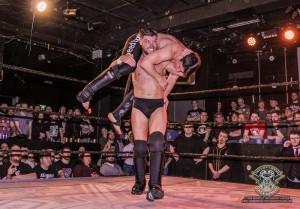 Jordan Devlin makes his hometown return after the WWE United Kingdom Championship Tournament. (Photo by John Morrissey Photography)